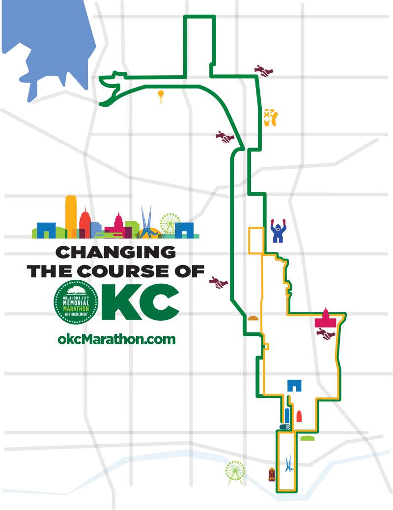 Half Marathon Course Released – Oklahoma City Memorial Marathon
